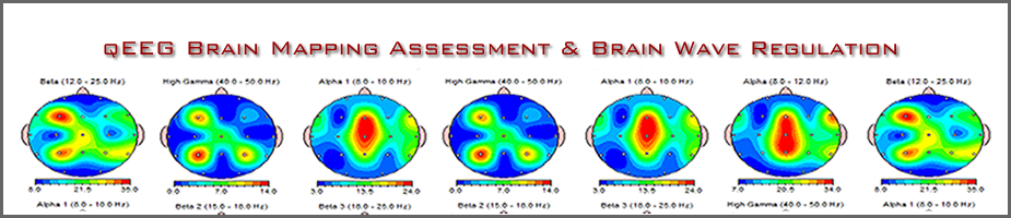 QEEG images for neurofeedback